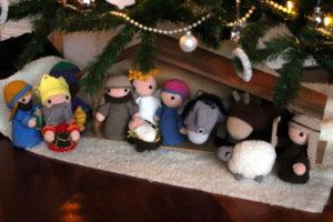 Kerststal haken