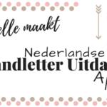 Nederlandse handletter uitdaging